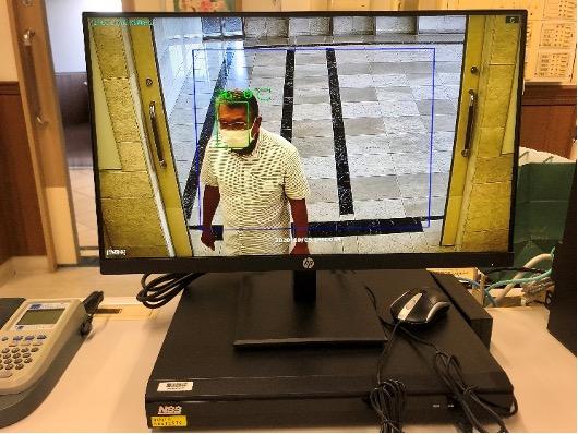 サーマルカメラによる非接触温度測定